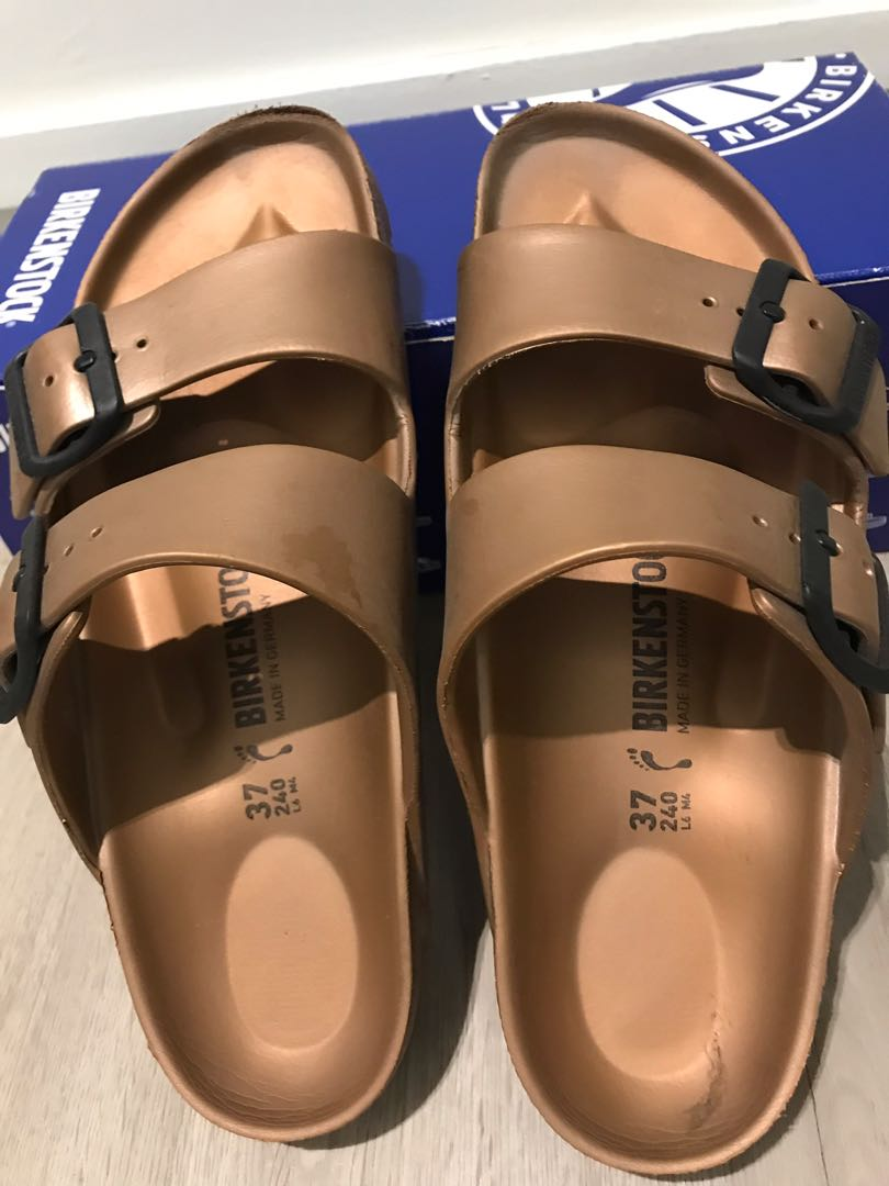 92cede8431b Birkenstock Arizona Copper metallic