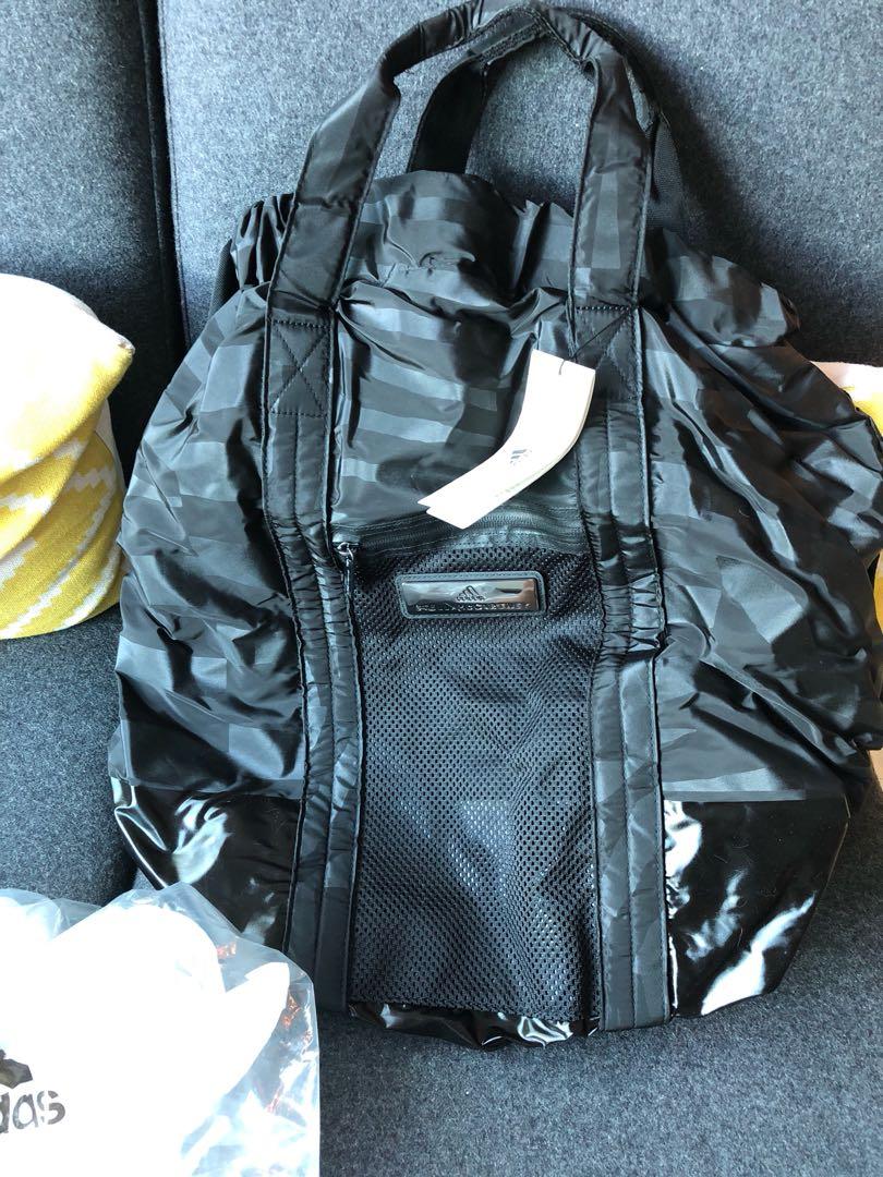 online retailer d027c 381da BNIB ADIDAS Stella McCartney gym bag, Women s Fashion, Bags ...