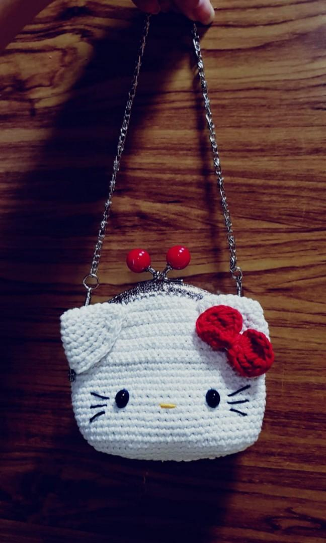 Pin by Maggie Charest on Crochet | Hello kitty crochet, Hello ... | 1080x648