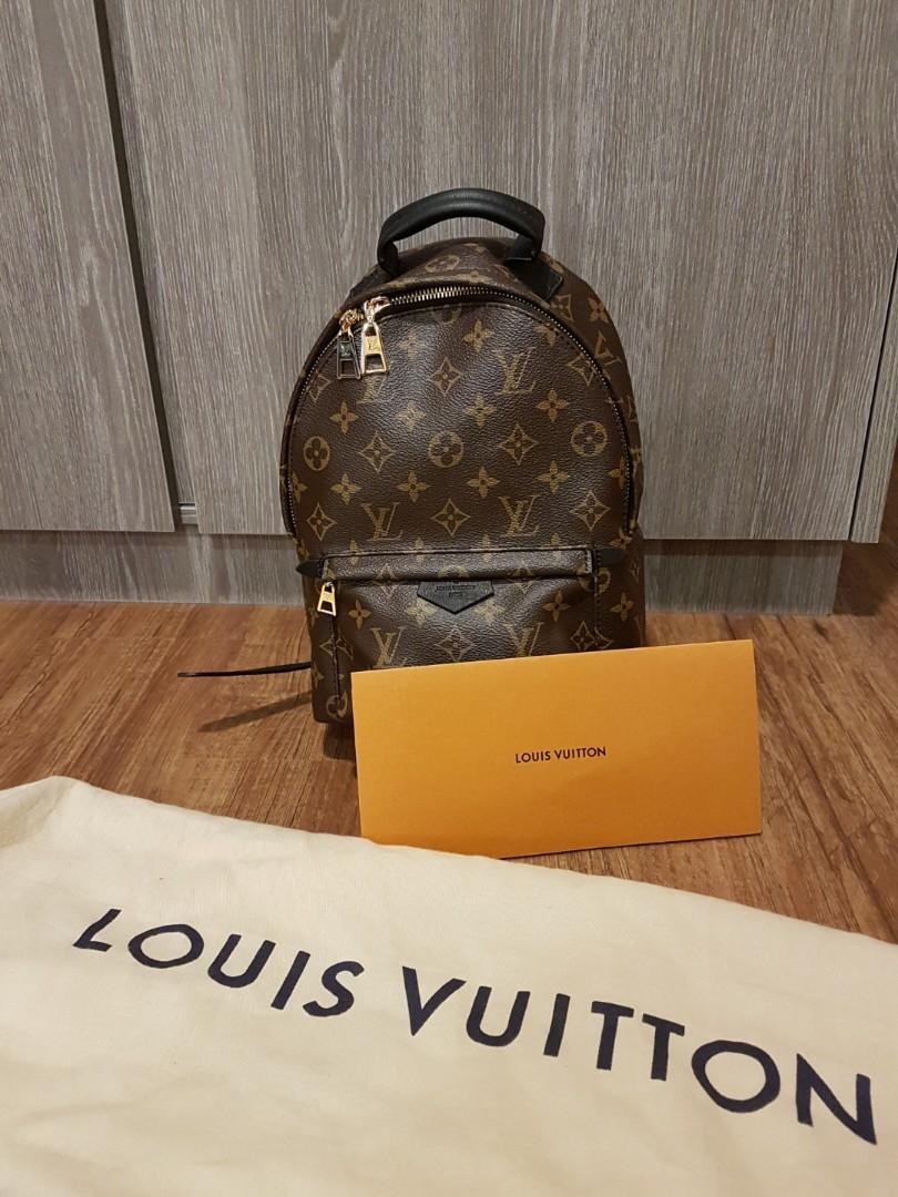 0d40c440d252 BRAND NEW Louis Vuitton LV Monogram Palm Springs Backpack PM M41560 ...