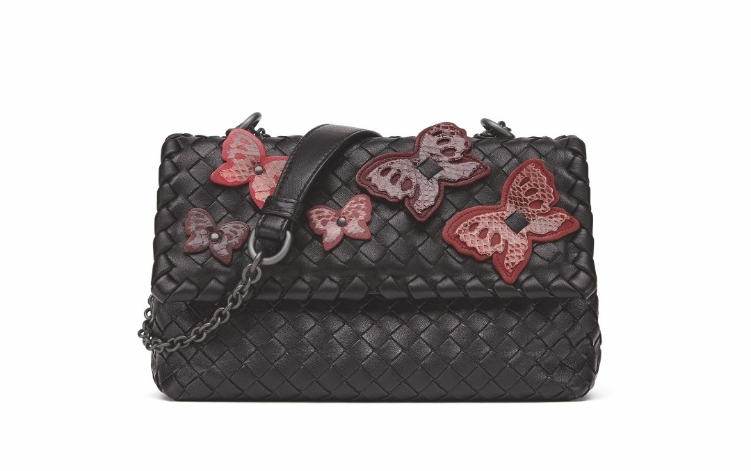 6473301071a1 Butterfly Collection  Bottega Veneta Olympia Shoulder Hand bag ...