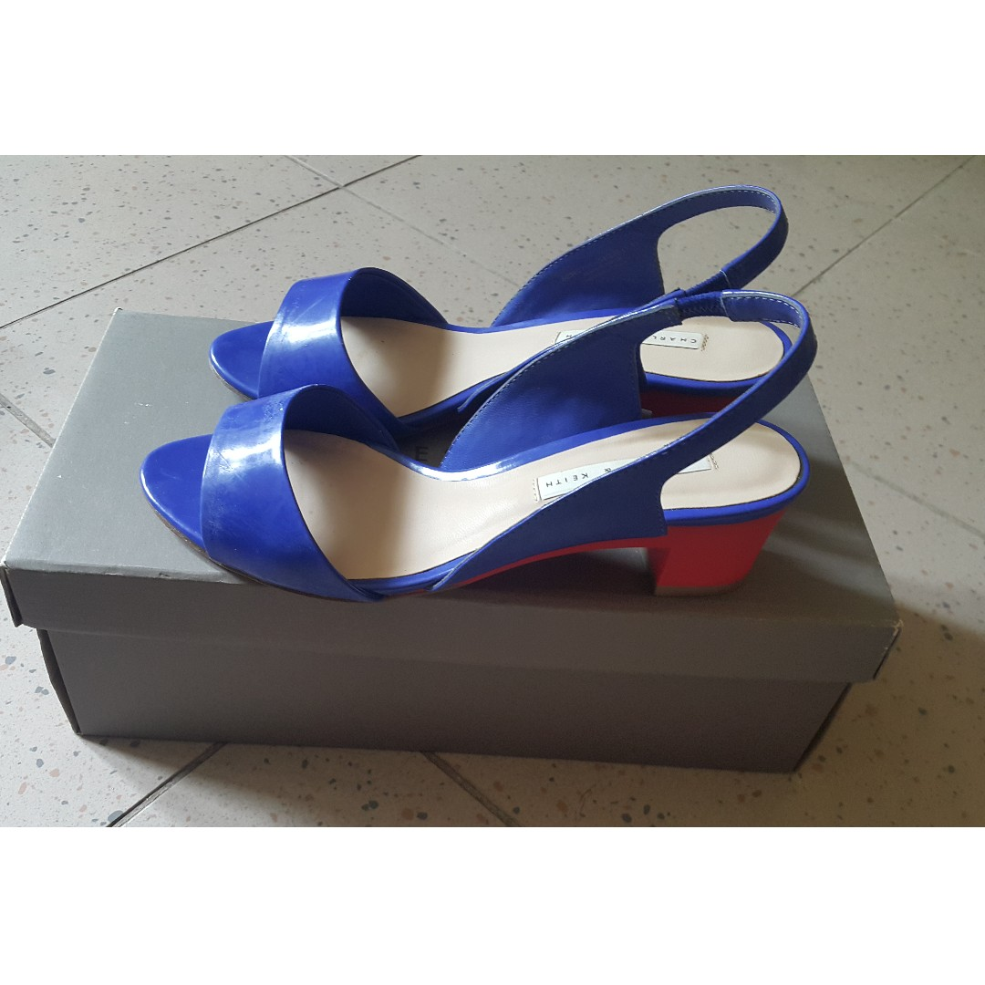 432c657e63d Charles   Keith Colourblock Heels