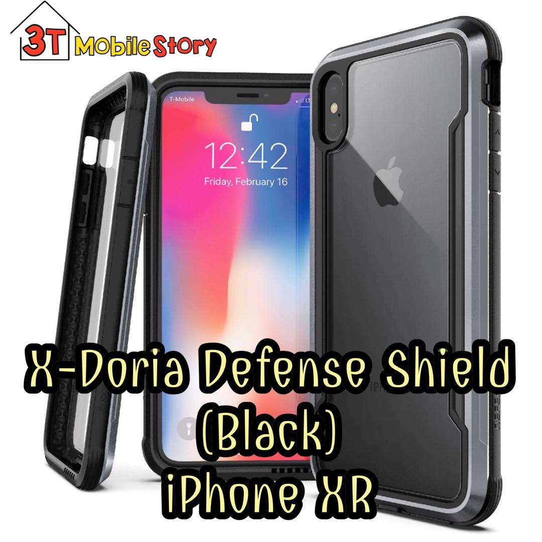 4607887ed Defense Shield Blacm X-Doria for iPhone XR, Mobile Phones & Tablets ...