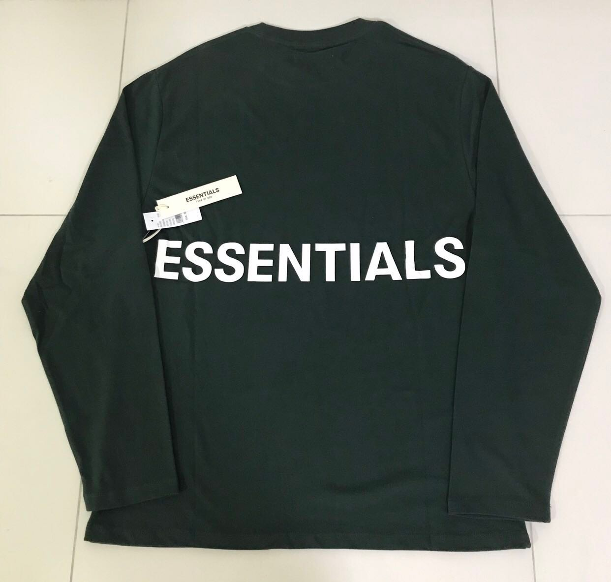 d61f6c492a Fog essentials long sleeve tee, Men's Fashion, Clothes, Tops on ...