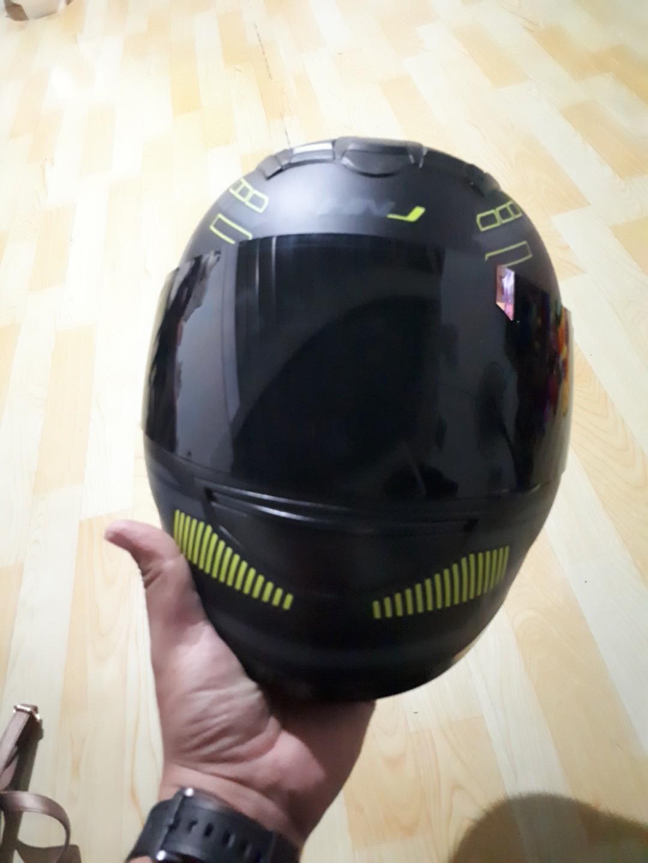 8118eeaf Hnj Full Face Helmet(Limited Edition), Motorbikes on Carousell