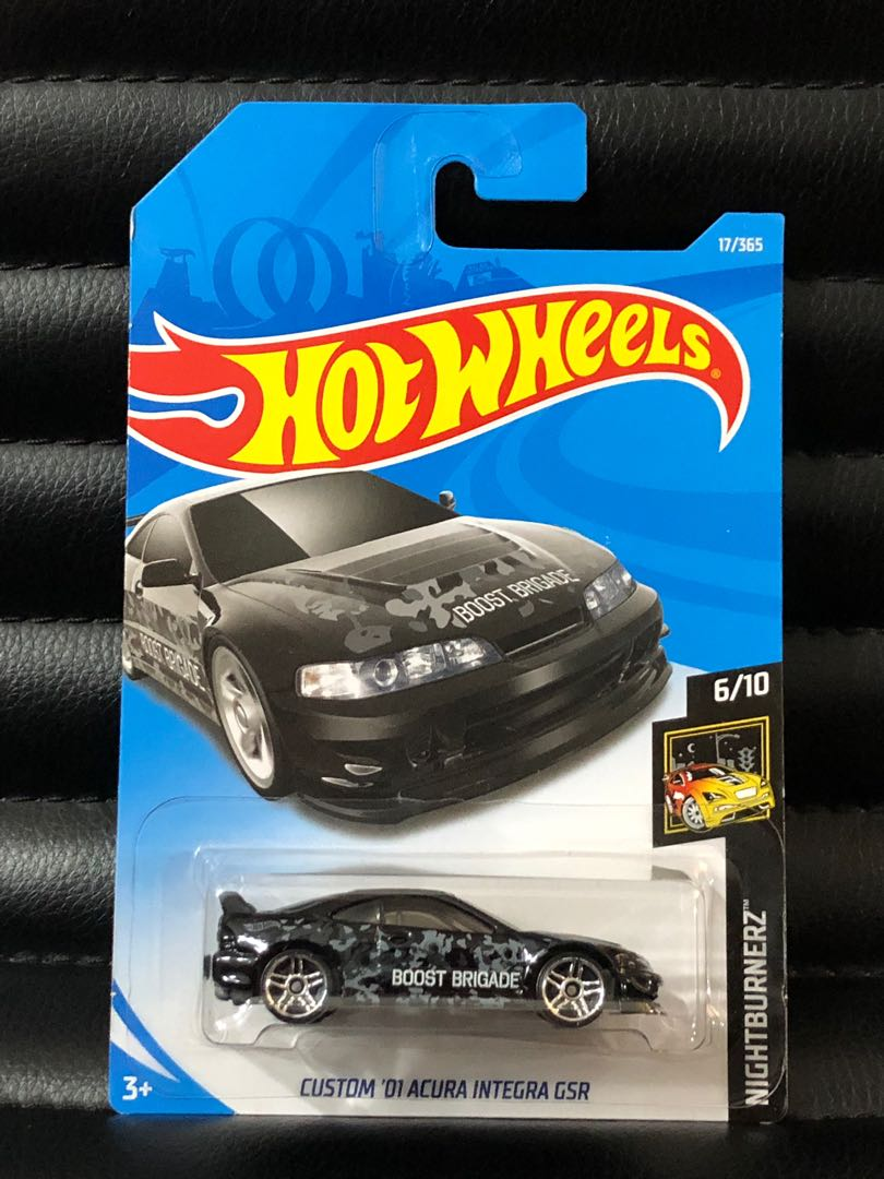 Clearance Hot Wheels Boost Brigade Acura Honda Integra Black Toys Games Bricks Figurines On Carousell