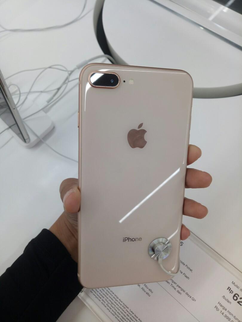 Iphone 8 Plus 64gb Kredit Tanpa Cc Ibox Mall Central Park Telepon Seluler Tablet Iphone Iphone 8 Series Di Carousell