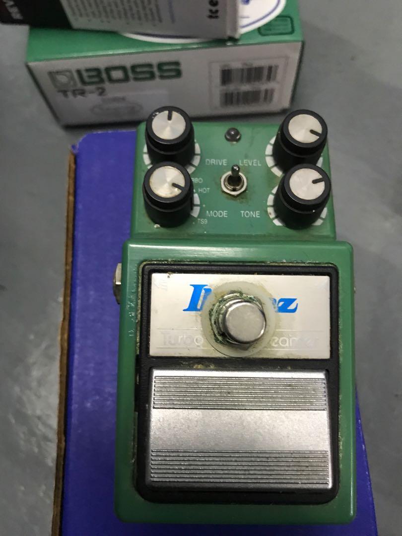 Keeley Mod Ibanez TS9DX tube screamer pedal
