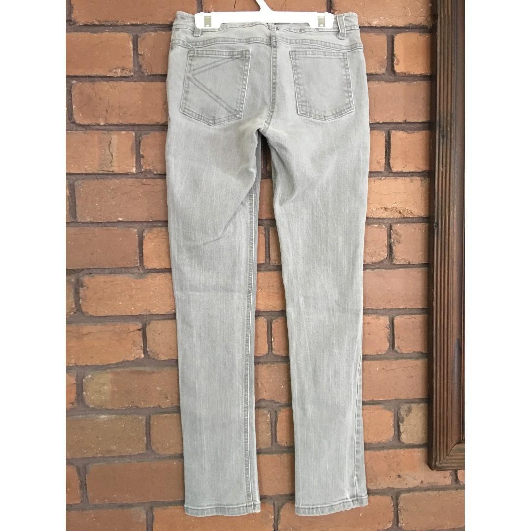 Kookai Grey Jeans. Size 38