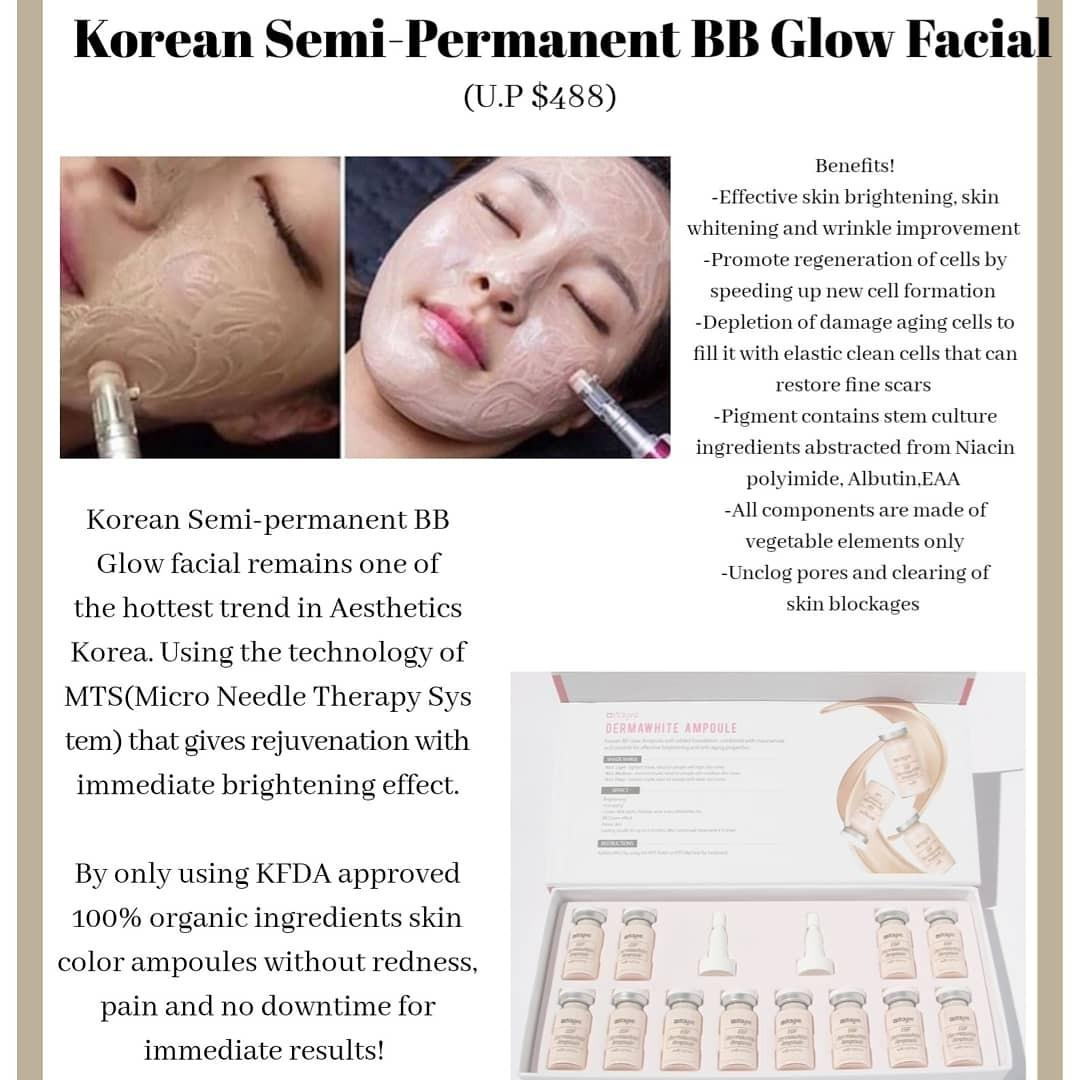 Korean Bb Glow Facial Lifestyle Services Beauty Health Services On Carousell