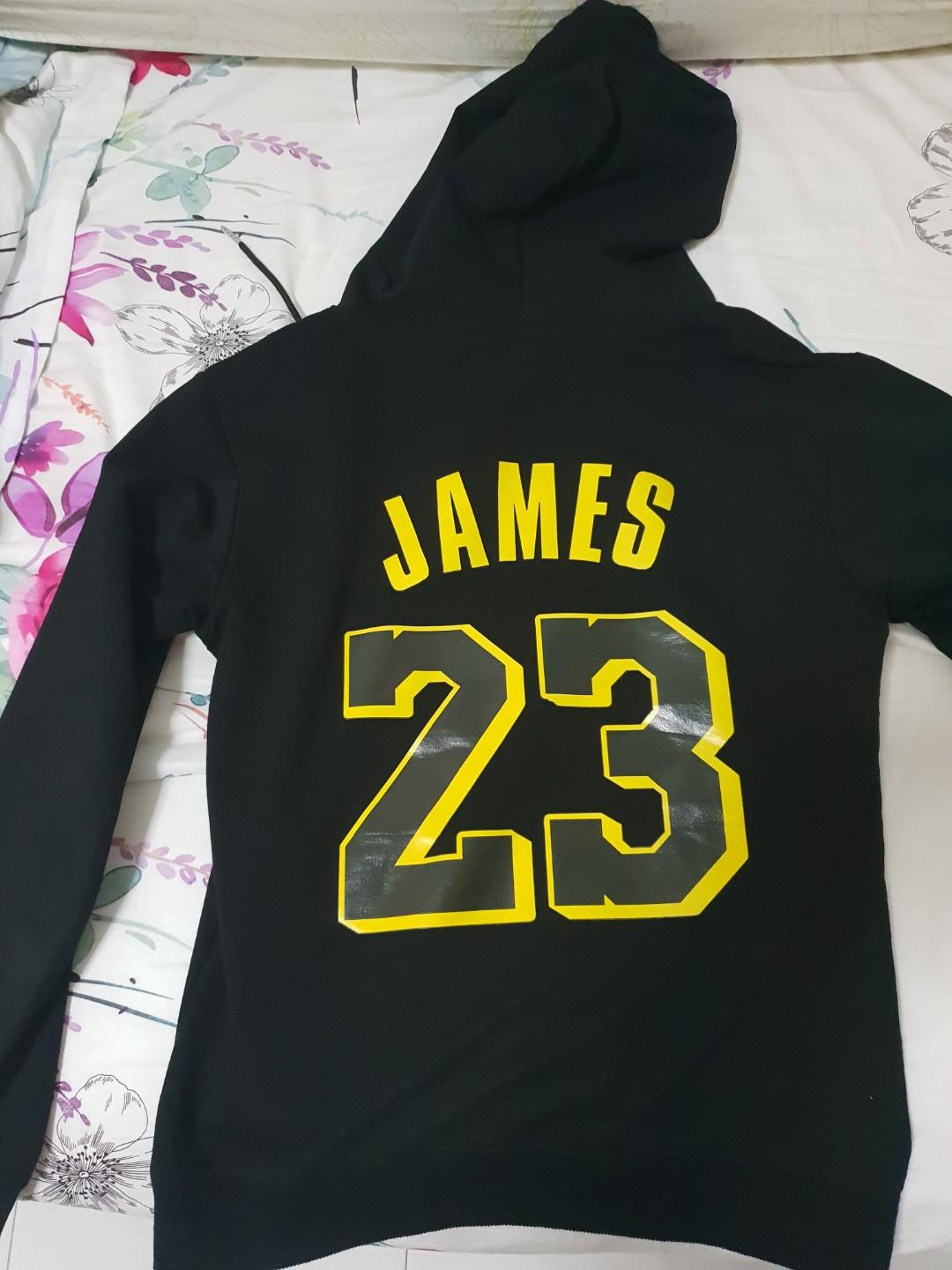 innovative design 70e78 d9284 Lebron James Lakers Hoodie, Men's Fashion, Clothes, Tops on ...