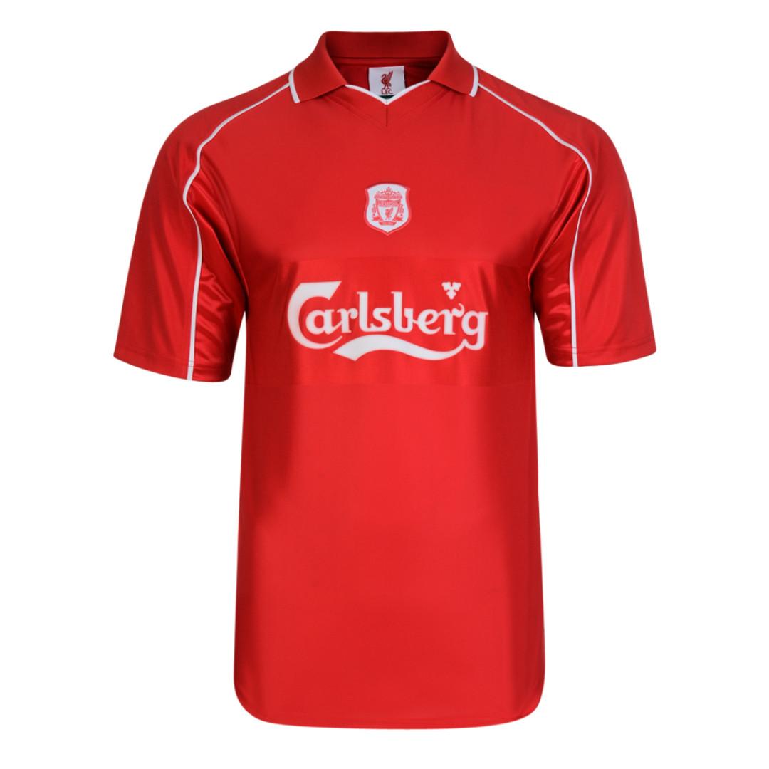 LFC Carlsberg 2000 Retro Home Shirt d599996bc