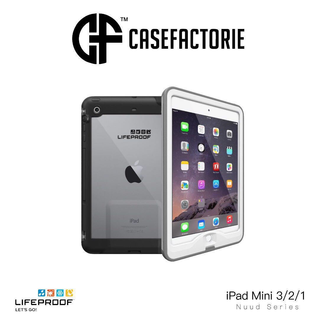 new arrival fdde7 54e08 Lifeproof Nuud Waterproof Case for iPad Mini 3/2