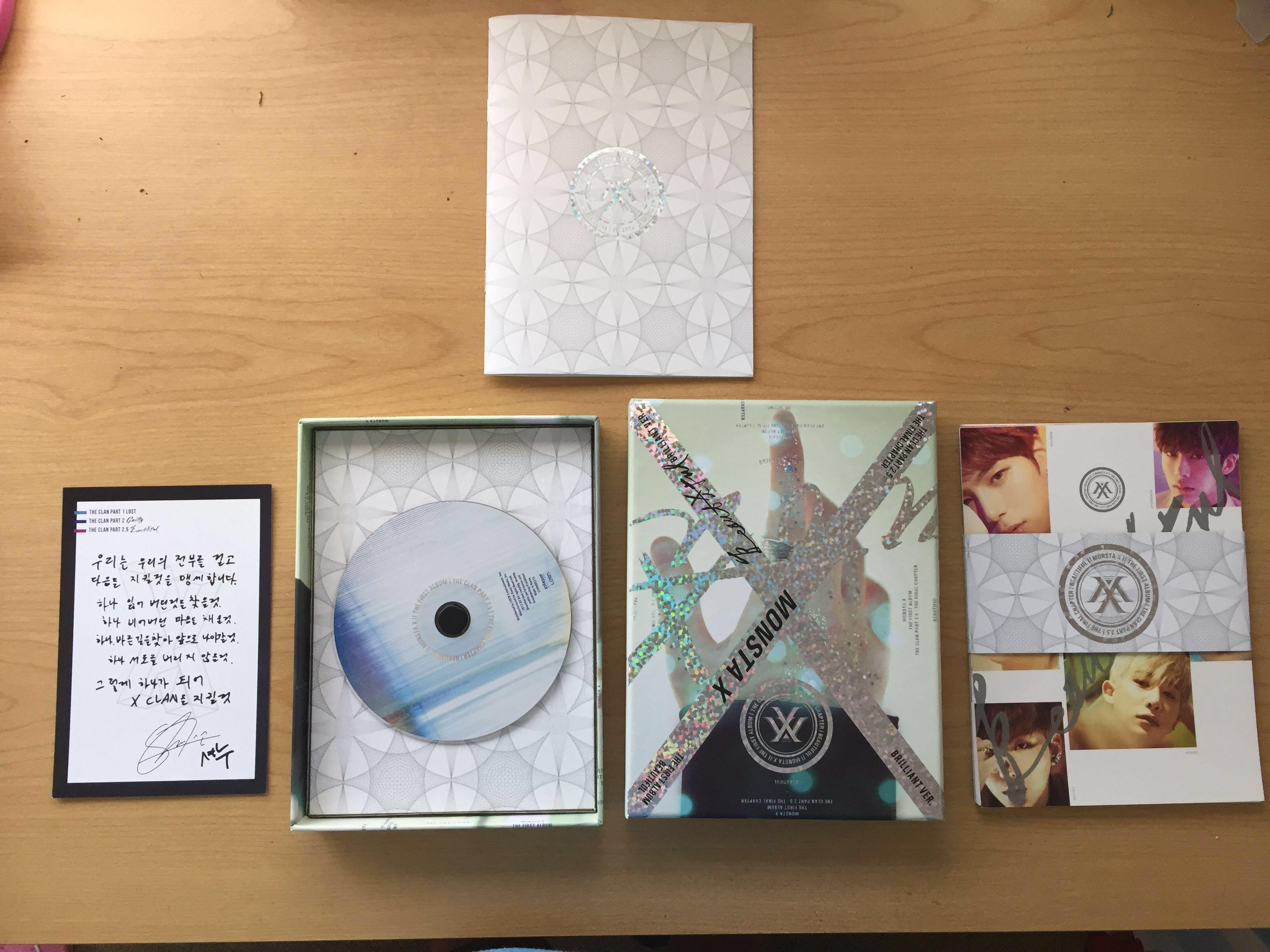 "Monsta X- First Album: The Clan 2.5 ""Beautiful"""