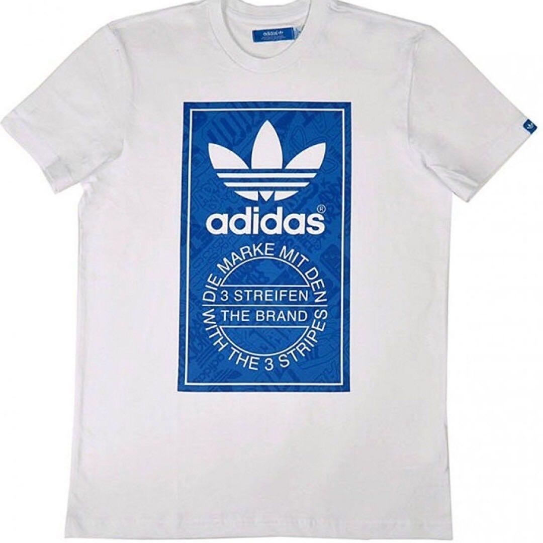 New With Tag Adidas Originals Trefoil Tongue Tee Shirt Medium