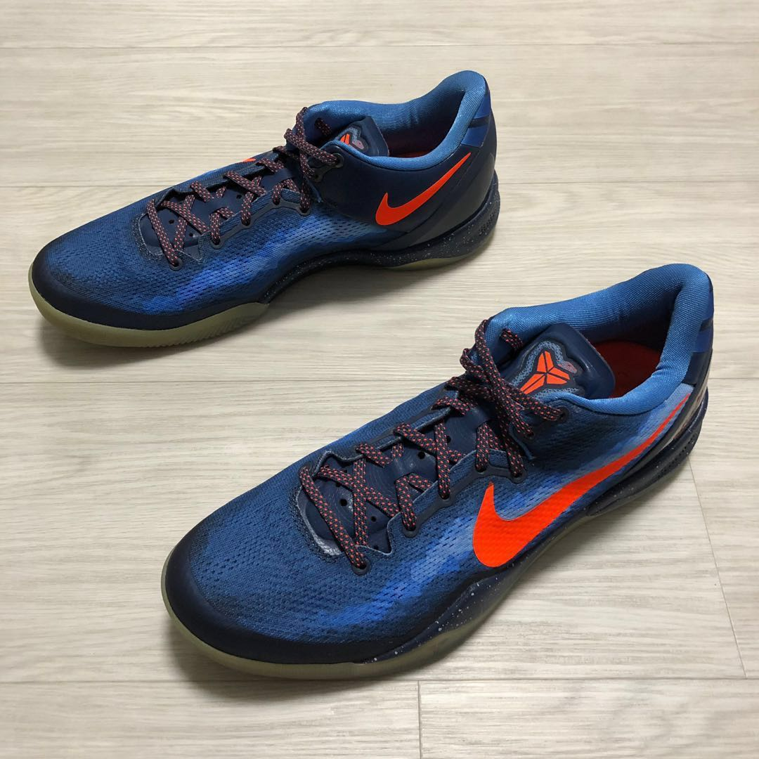 sale retailer 77bd4 eebef Nike - Kobe 8 System - US11.5 UK10.5 - BlitZ Blue, Men s Fashion ...