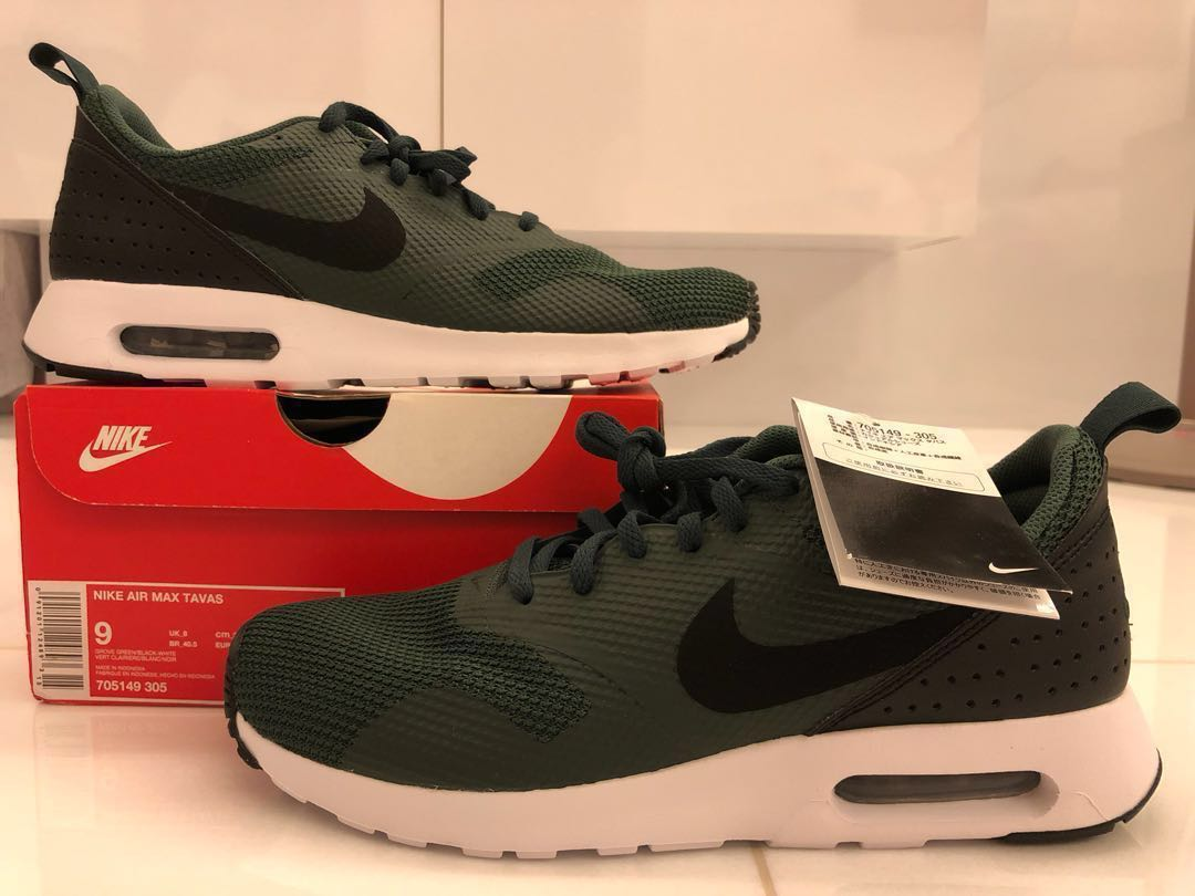 the latest 7bca5 ce913 Nike Air Max Tavas, Men s Fashion, Footwear, Sneakers on Carousell