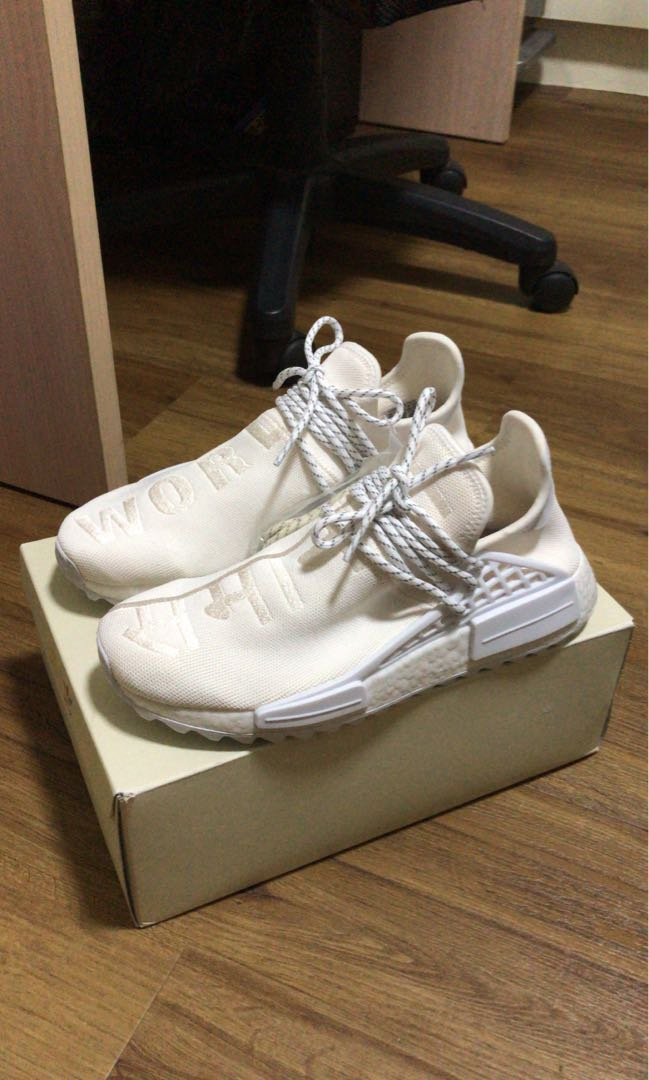 best loved 569fb 81644 Pharrell Blank Canvas Human Race NMD