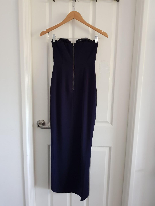 "Pilgrim ""New Jersey"" strapless dress sz6"