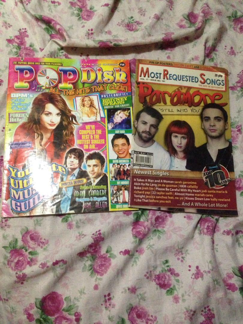 Pop Dish/Most Requested Songs Lyrics and Chords Book