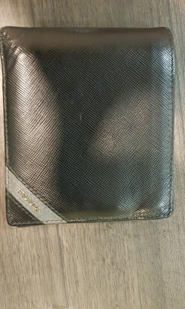 0b9746c6a011 Prada mens wallet, Men's Fashion, Bags & Wallets, Wallets on Carousell