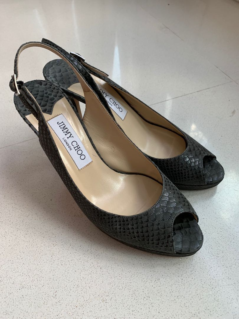 22e02792b08 Pre-loved Jimmy Choo authentic heels