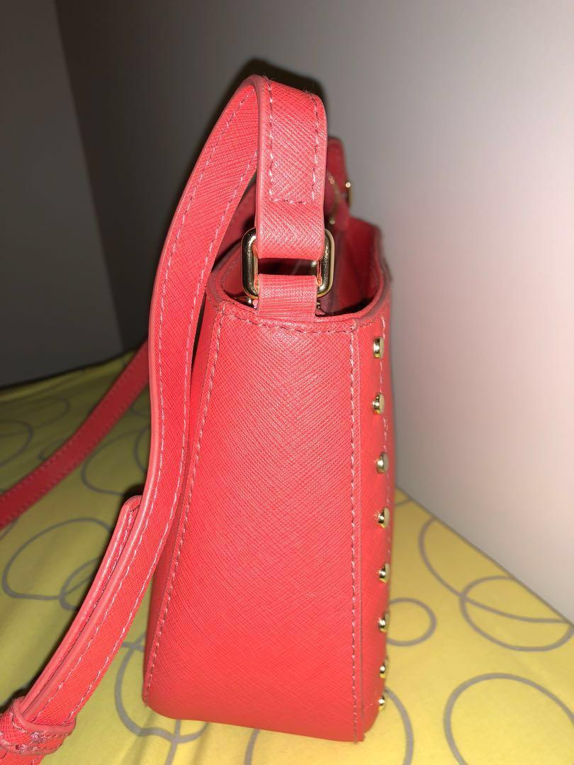 Red Crossbody Bag