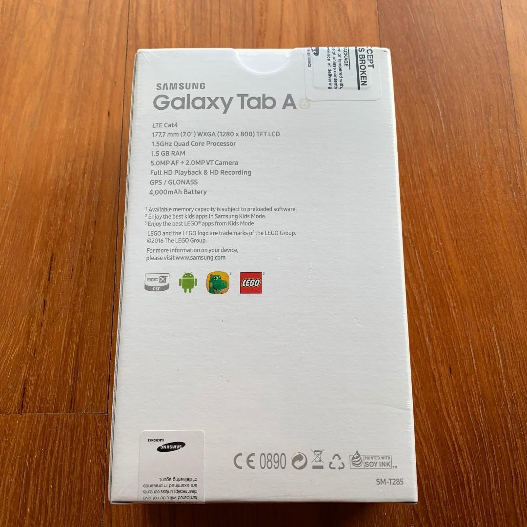 "Samsung Galaxy Tab A6 7 0"" LTE SM-T285, Mobile Phones"