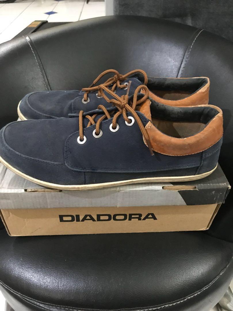 Sepatu Santai Casual Pria Diadora Original Mulus Murah Jual cepet
