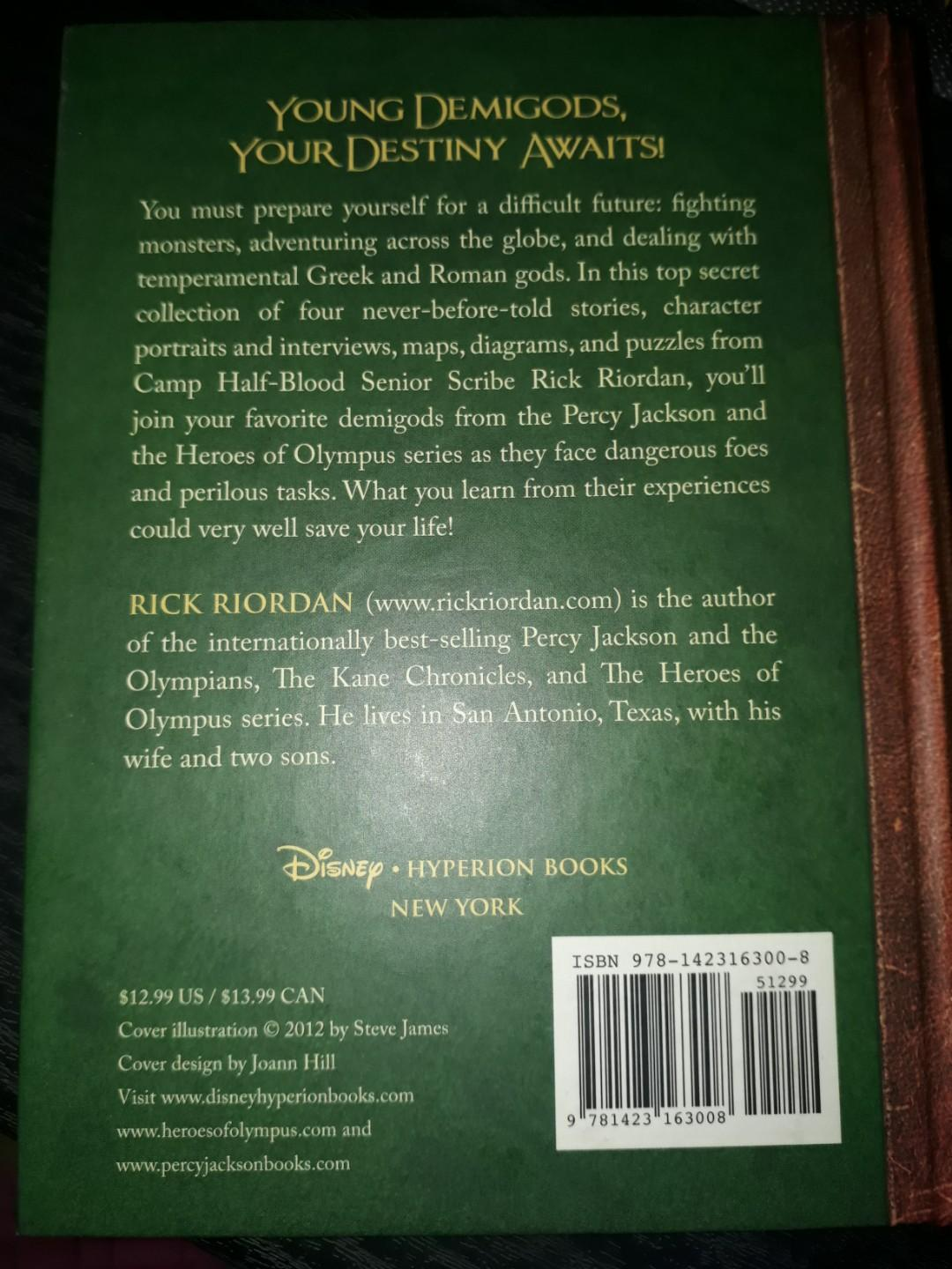 The Heroes of Olympus: The Demigod Diaries (Rick Riordan)