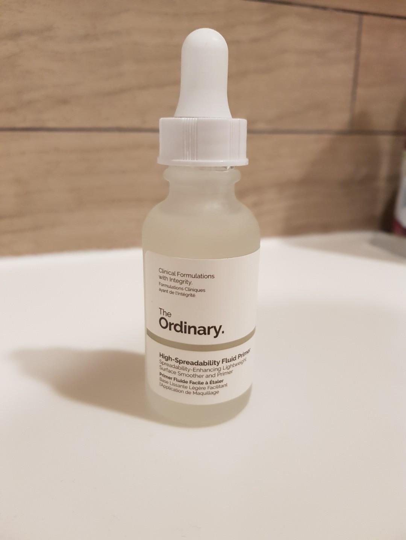 The Ordinary High Spreadability Fluid Primer 30ml New Health