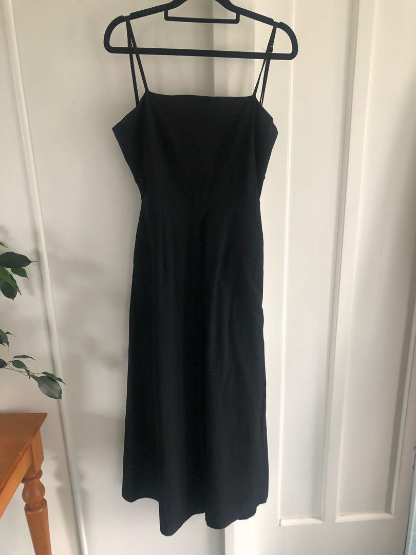 Tie back Jumpsuit from princesspolly.com in a size 8