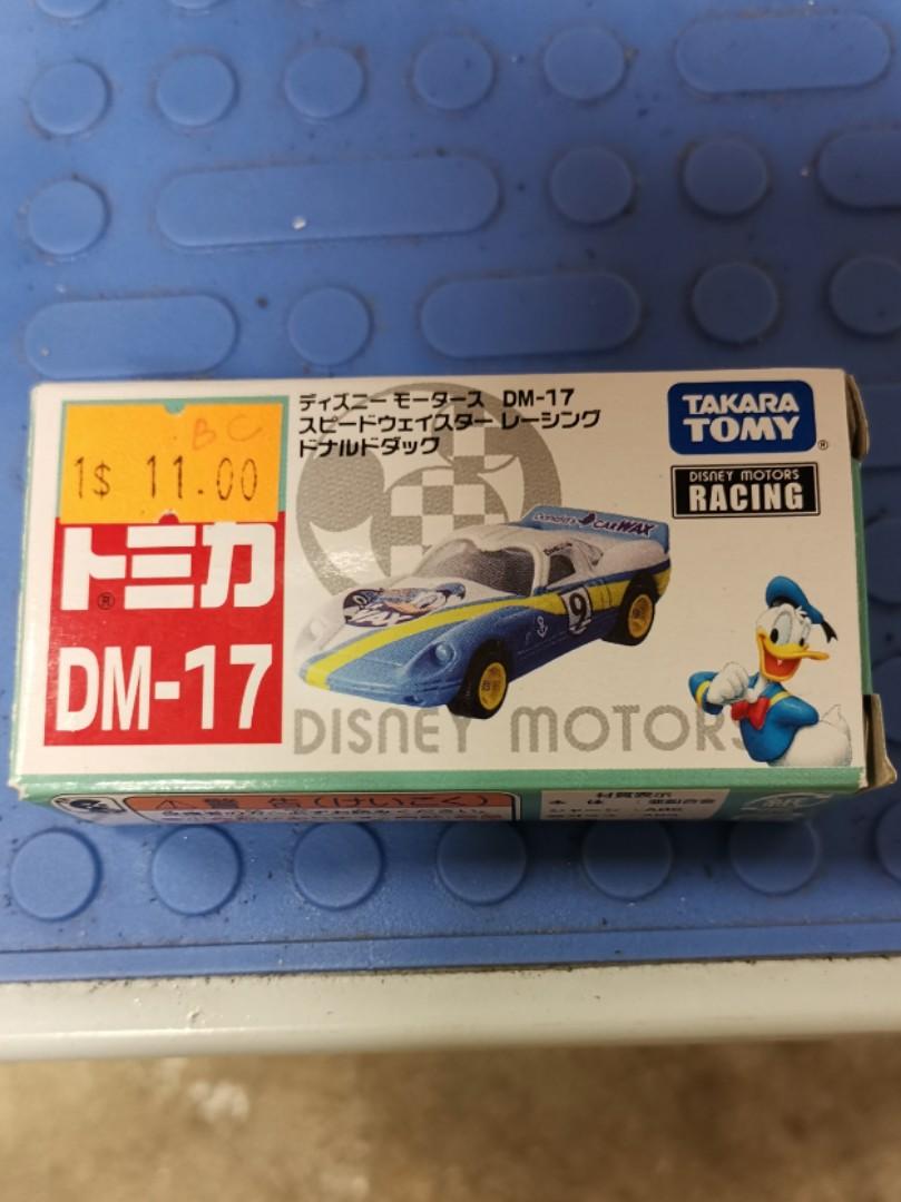 Takara Tomy Tomica Disney Motors DM-17 Speed Way Star Racing Donald Duck Car Toy