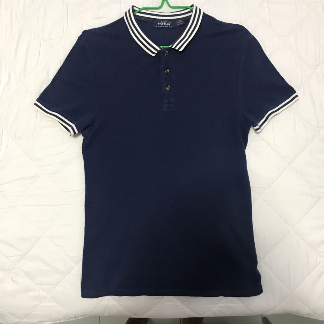 af6076419 Topman Polo shirt, Men's Fashion, Clothes, Tops on Carousell