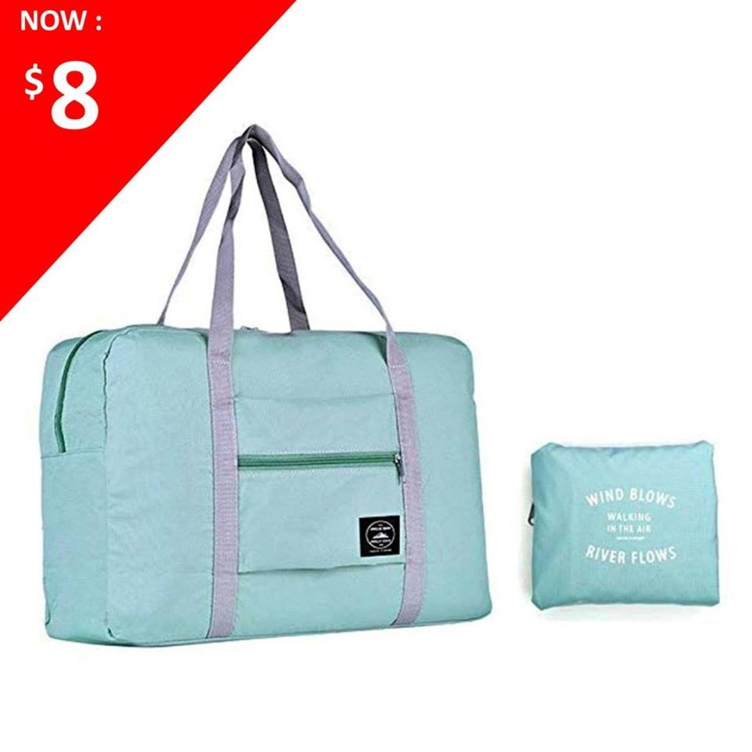 Travel Foldable Duffel Bag for Women Men e8c915e5a3196