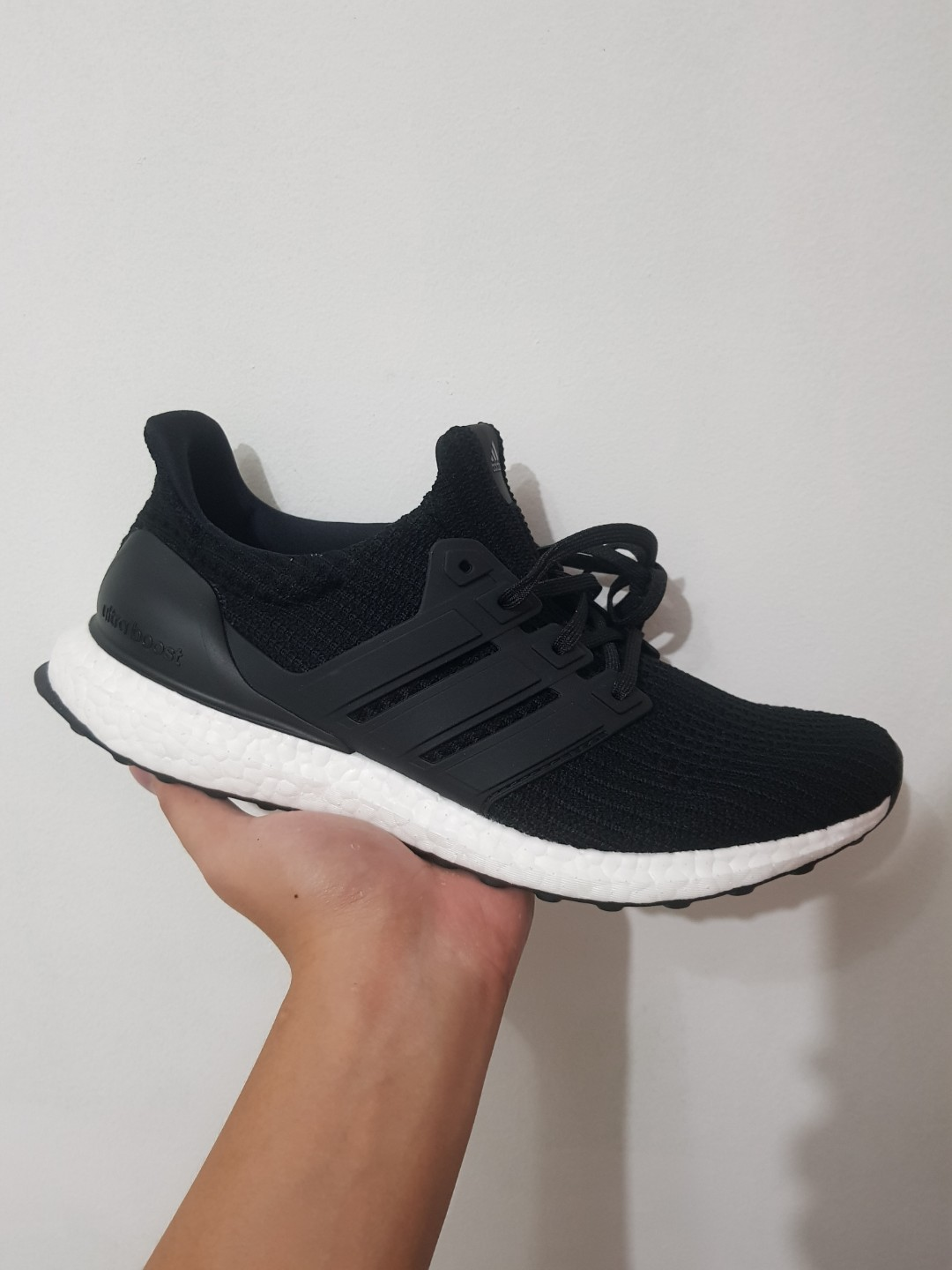 6f16f8b967189 Ultra Boost 4.0 Core Black BB6166 US 9.5