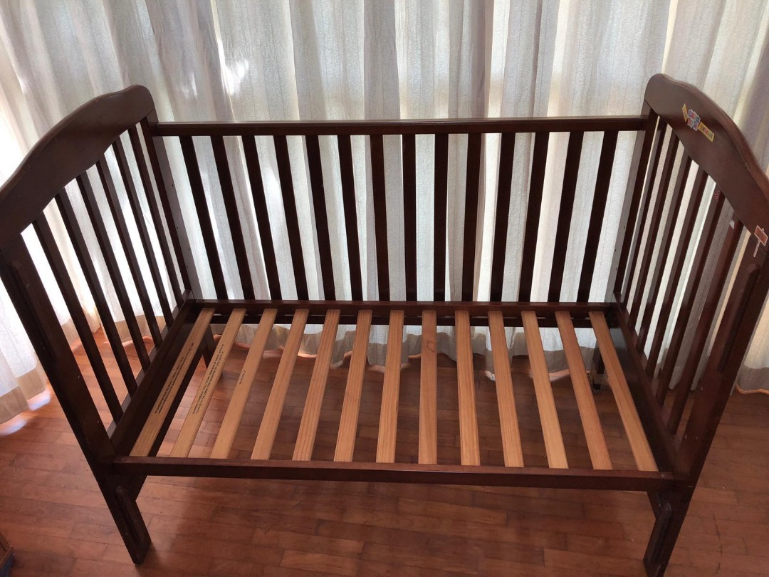 Used Baby Crib And Toddler Cot With Mattress Babies Kids