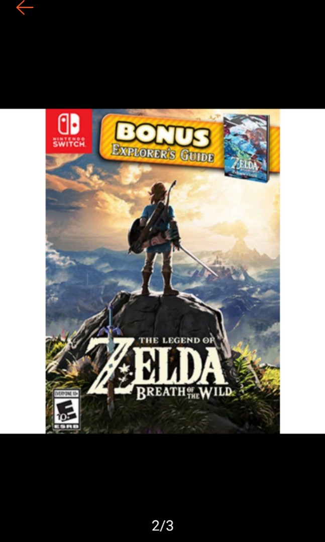 [With Bonus Guide] READY STOCK! Legend of Zelda Breath of the Wild