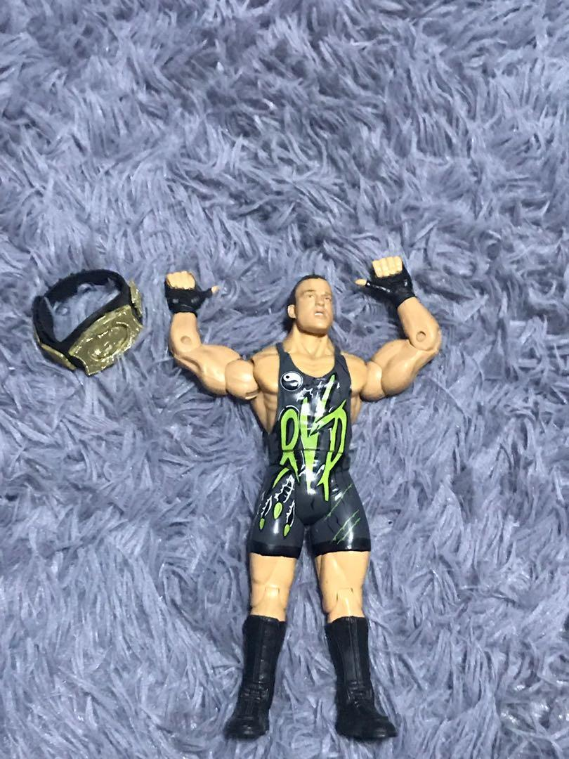 WWE RVD ROB VAN DAM with WWE SPINNER BELT, Toys & Games