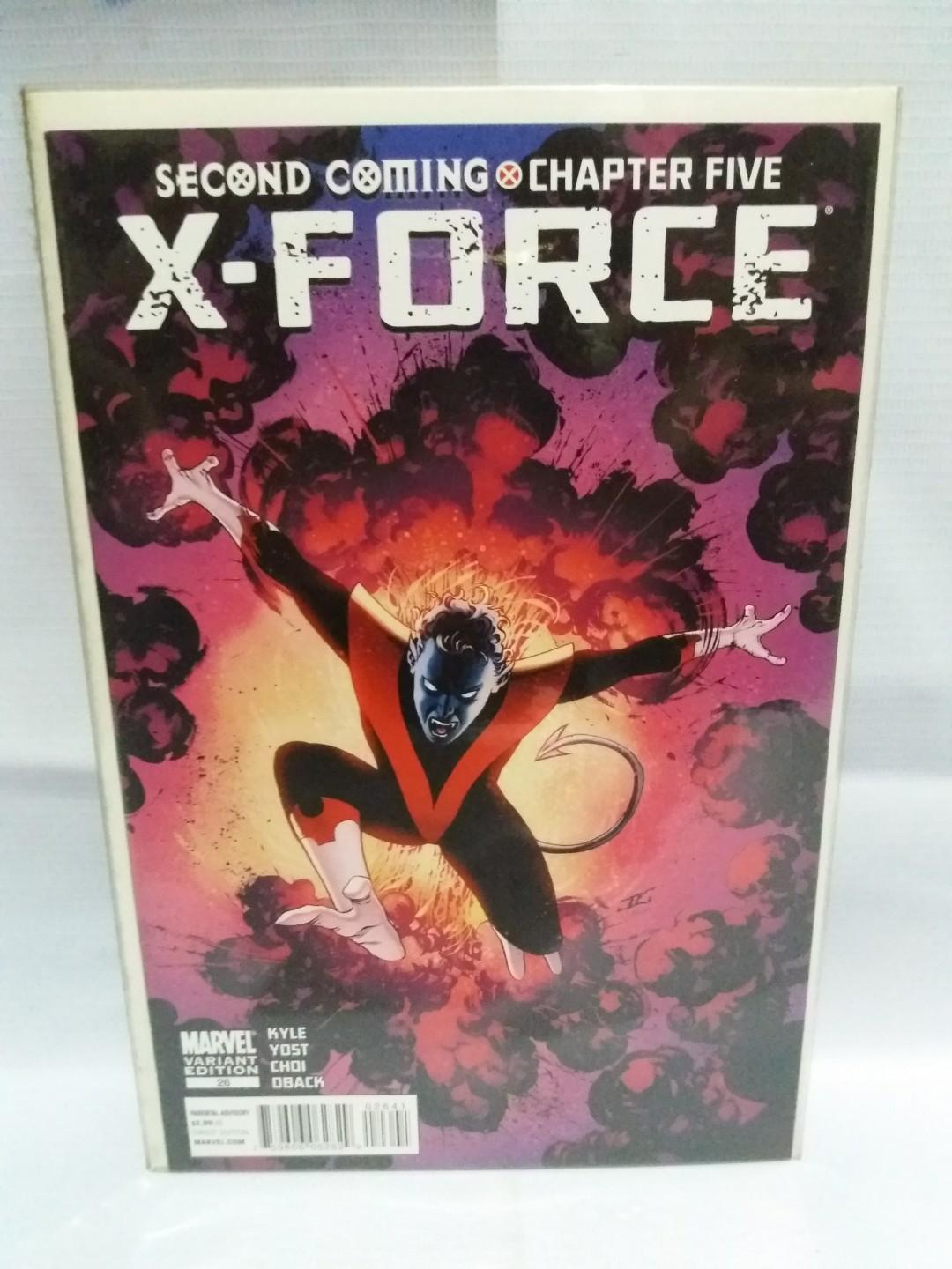 X-Force (3rd Series) #26 (Second Coming Chapter 5) (Nightcrawler Death)