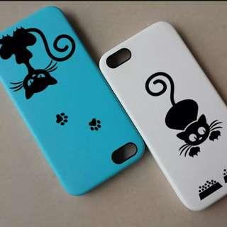 Curious Cat Decal Stickers Phone or other surfaces - 1 sheet
