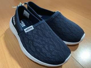 愛迪達 正版 Adidas neo memory foam 布鞋 便鞋 球鞋 深藍 Toms 可參考 軟墊 記憶綿 會呼吸的鞋子