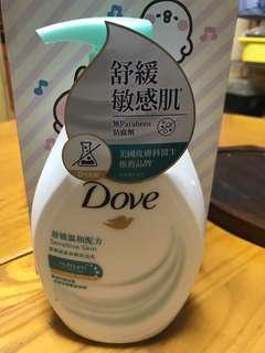Dove 多芬舒緩敏感肌沐浴乳/沐浴露