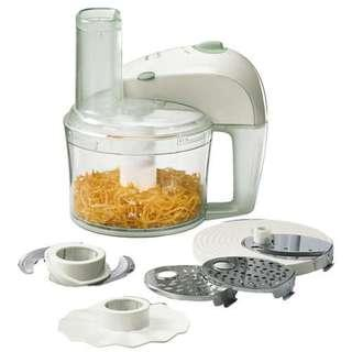 🚚 CNY Promotion! $75 only! Philips Mini Food Processor HR7605/10 (350W) with 15+ Functions