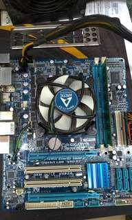 GIGABYTE H55M-S2H底板(買少見少)+i3-530 CPU