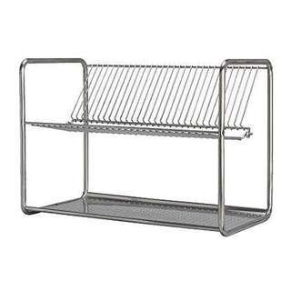 IKEA Stainless Steel Dish Drainer/Rack