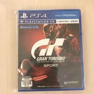 PS4 GT Sport