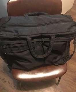 絕版 Head Porter Black Beauty Duffle Bag