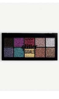 Nyx glitter goals pro cream palette