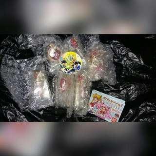 美少女戰士 SailorMoon 扭蛋  part2 變身器 女王新月權杖 螺旋愛心月權杖 月光幻彩 chibimoon